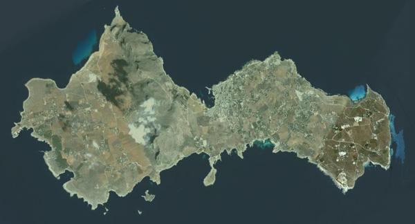 The island of Favignana
