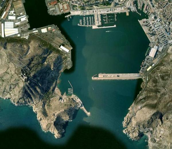 Marina Of Cartagena Spain